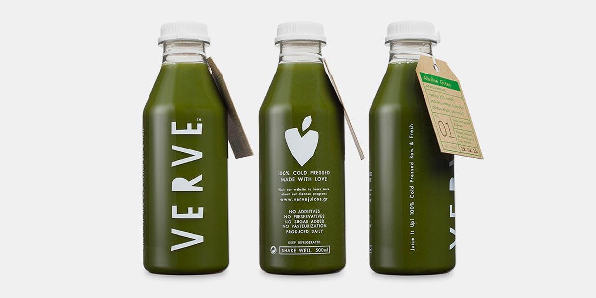 天然饮品包装设计