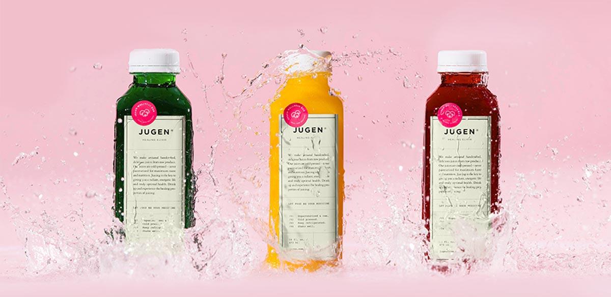 新包装设计的灵感是来自于古老的草药瓶,包装设计师通过为其添加整洁