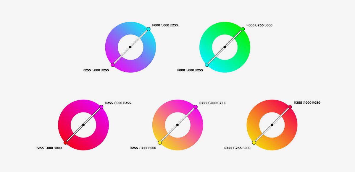 标志色彩应用